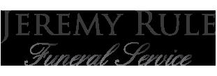 Jeremy Rule Funeral Service